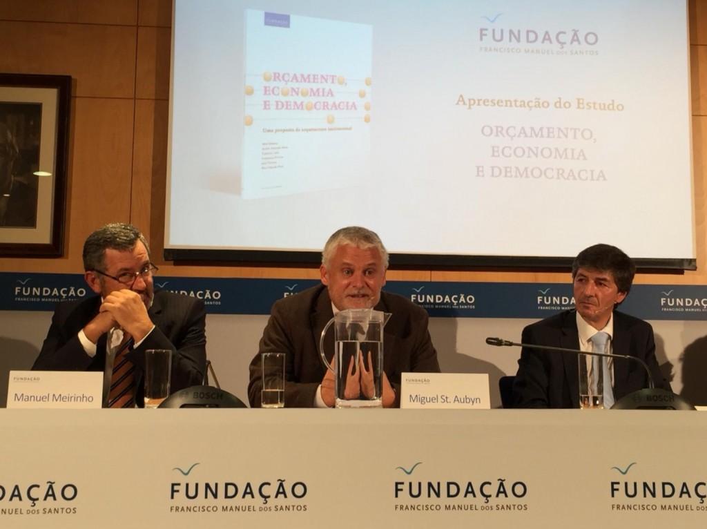 Miguel St. Aubyn em conferência sobre orçamento e democracia