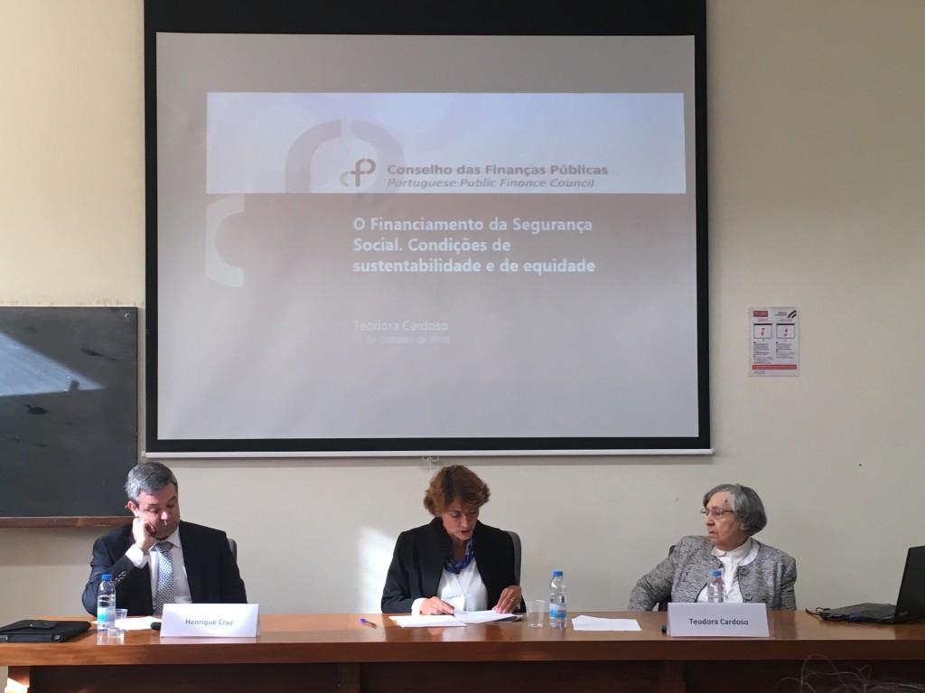Teodora Cardoso participa em conferência sobre a Segurança Social